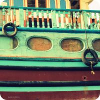 Blue Dhow by lostknightkg