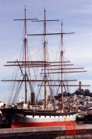 Balclutha in San Francisco by Zoxesyr