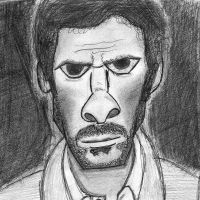 Caricature of Dr House by musical-ecstasy