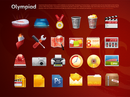 Olympic Games Icon Design 7 by gaolewen