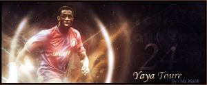 Yaya Toure by N-o-o-R