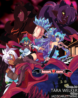 heartcore:. series cover! by tlwelker
