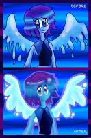 Before and after Lapis Lazuli... by rhythmthief000