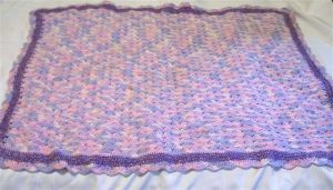 Crochets baby blanket by Momtat31