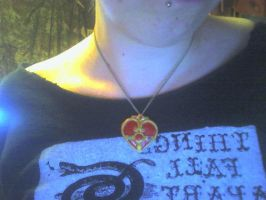Cosmic Heart Compact necklace by LaurenW24