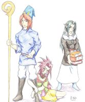 Alell, Noa, and Slphyll by Iomma