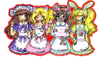 .:Sweetie Maids:. by luigipony