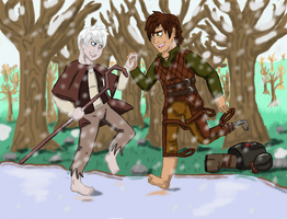 RotG/HTTYD: 'Don't Worry, I'll Help You' by JodieDoe