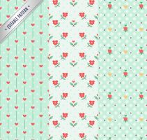 3 Elegant Pattern Seamless Background Vector Mater by FreeIconsdownload