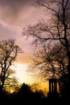 Sunset on Calton Hill by pietro8909