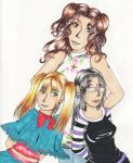 Sophy, Alessa and Clarisa by lia-brisa