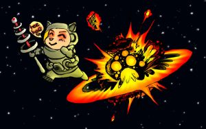 Space Teemo by slithercat