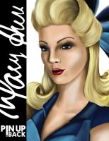 Mary Ann - Close Up by macillustrator