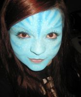 Avatar Inspired Makeup. by Gizzick