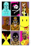 Zombie Watchmen by J5ALl53VRY