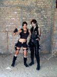 Lara and Doppelganger - friends by TanyaCroft