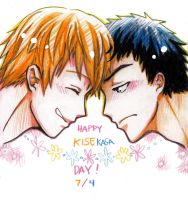 :KnB: Happy KiseKasa day! [late] by yukaerin