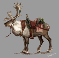 Caribou Mount by lunatteo