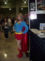 Cheery Supergirl by Ave606
