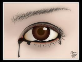 Sad eye by bagor