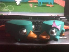 Perry and Sisy toys :3 by AndiiGrr