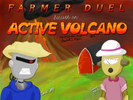 Farmer Duel title screen by Moosader