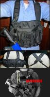 NERF Vest Integrated Sling v2.5 by MarcWF