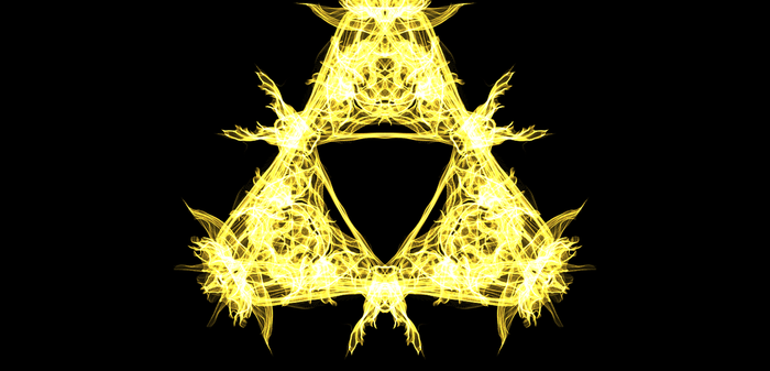 The Triforce! by BlackStarRules1