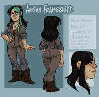 CHARACTER REF: ADRIAN by AgentDax