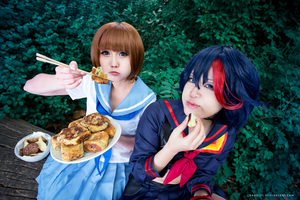 Lunch break: Mystery Croquettes! [KLK] by AN0RIEL