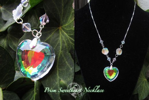 Prism Sweetheart Necklace by Firefly-Path