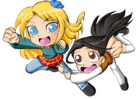 AIRE n ME by B3-9632 :Colored: by pokediged