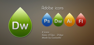 Adobe Icons by Liuxiaofei