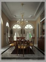 dinning room by Halami