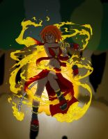 Dance with fire by hahahayuus COLOR by Anime-Apothecary