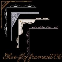 Paint Shop Pro frame set 06 by shoe-fly