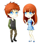 Kayla and Kyle twins! by SakuraYagami