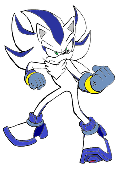 Blade the hedgehog by The-Anarchy-Reaper