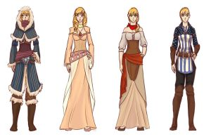 Solona Concept Outfits by Seroph