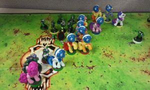 Blood Bowl Project 65 (play example 2) by PONYPAINTTHEPONY