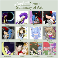 .: Summary of Art 2011 :. by ARSugarPie