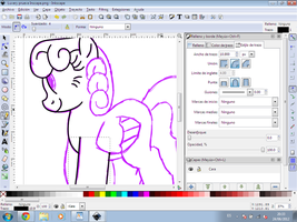 Inkscape WIP-vector practique by CommyPink