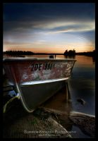 Lonely Boat by ShanKnow