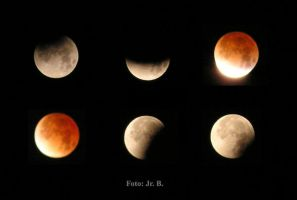 Lunar Eclipse by Jarik27