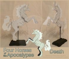 Horses of the Apocalypse: Death by StrayaObscura