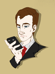 Mycroft Holmes by ClearlyConvoluted