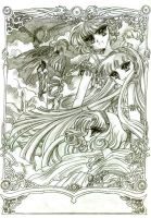 Magic Knight Rayearth by cho-kuga