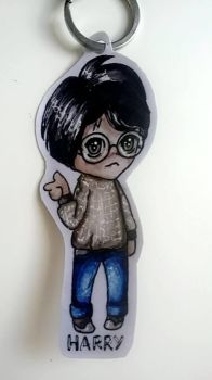 .:CHIBI:. Harry Potter by Dianallen
