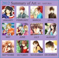Summary of art 2012 by sayuko