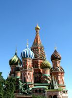 Saint Basil's Cathedral by cerenimo
